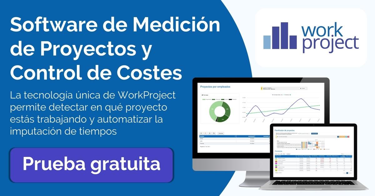 software de medicion de proyectos y control de costes