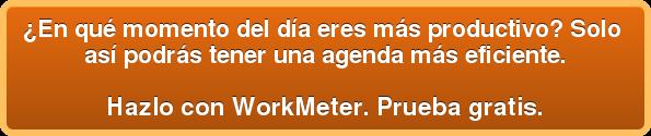 ¿En qué momento del día eres más productivo? Solo así podrás tener una agenda más eficiente.  Hazlo con WorkMeter. Prueba gratis.