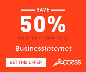 Save 50% Off Business Internet
