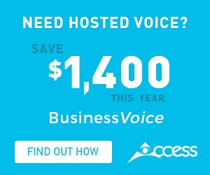 Save $1400 off hosted voice