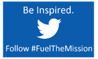 Twitter - #FuelTheMission button