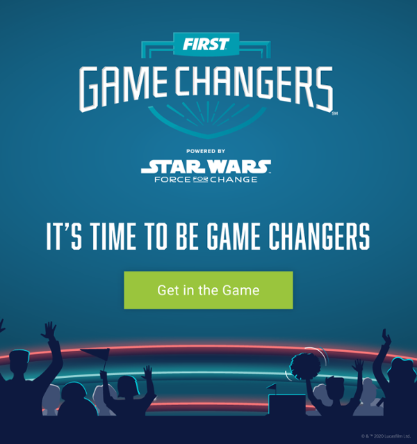 It's Time to Be Game Changers