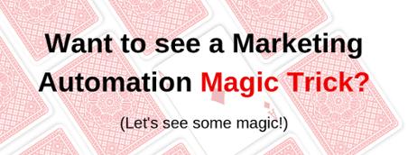 Automation magic trick