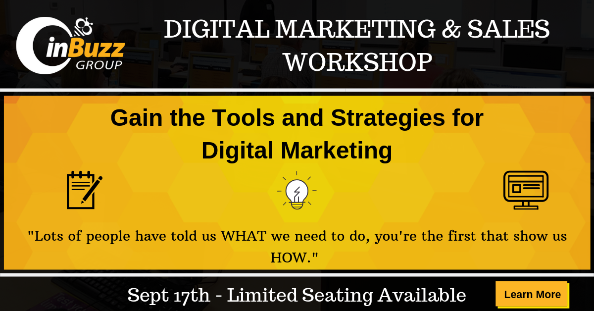 Attend the Digital Marketing Workshop