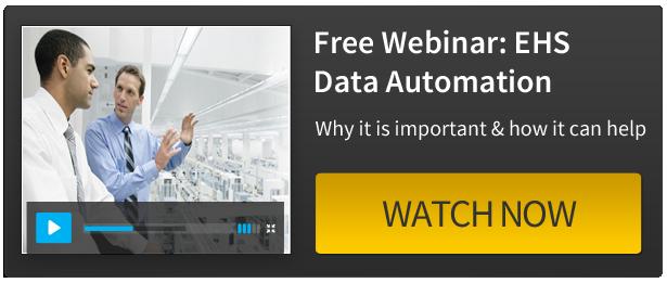 Watch our Webinar - EHS Data Automation: