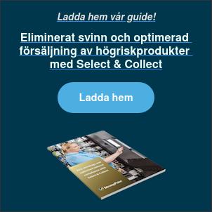 Ladda hem vår guide!  Eliminerat svinn och optimerad  försäljning av högriskprodukter  med Select & Collect Ladda hem