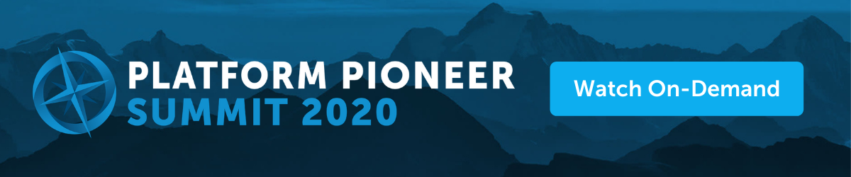 platform pioneer summit 2020 on demand