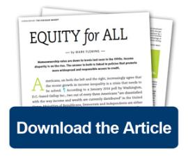 Download the Mortgage Banking Article