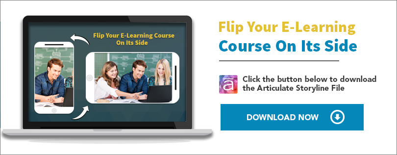 Flip your course design on its side