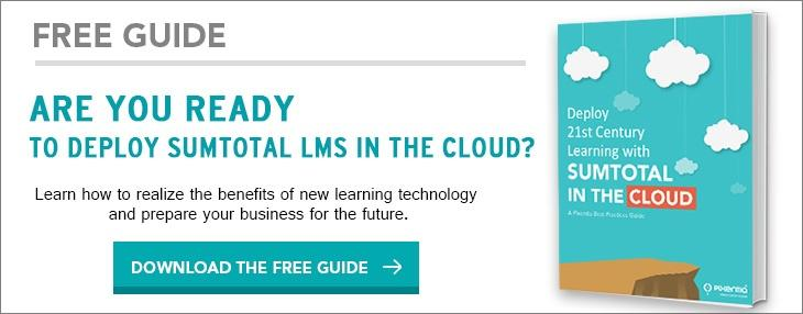 Sumtotal learning in cloud