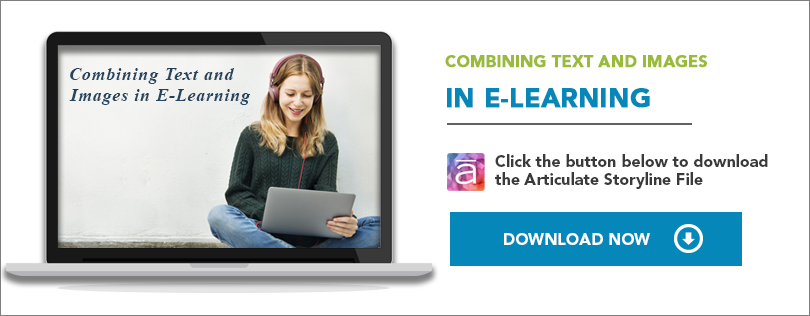 Elearning Challenge - Combining Text with Images in E-learning