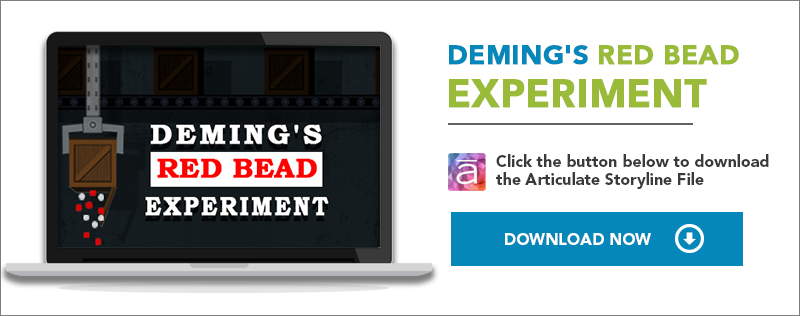 Deming's Red Bead Experiment