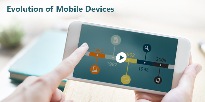 Elearning Challenge - An Interactive timeline on Evolution of Mobile devices