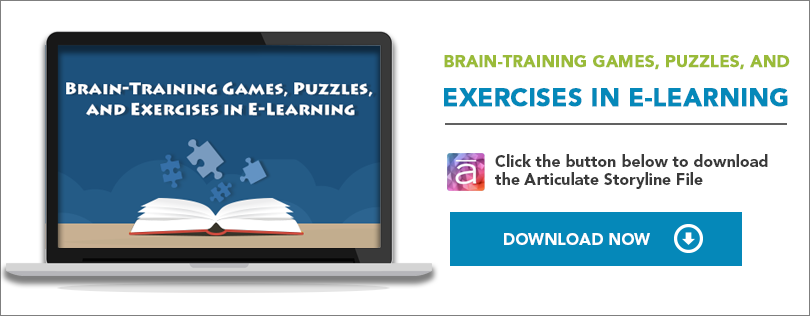 Elearning Challenge - Brain training games, puzzles and exercises in e-learning