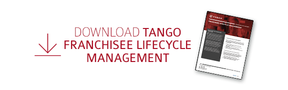 Download  Tango's Franchisee Lifecycle  Management Datasheet