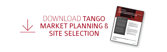 Download  Tango's Market Planning and  Site Selection Datasheet