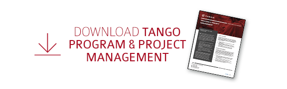 Download  Tango's Program and  Project Management Datasheet