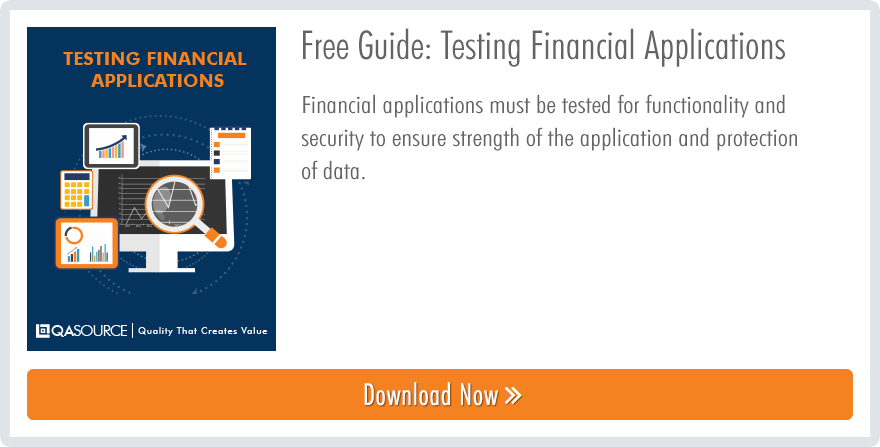 Testing Financial Applications