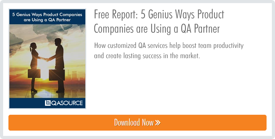 Free Whitepaper: 5 Genius Ways Product Companies are Using a QA Partner