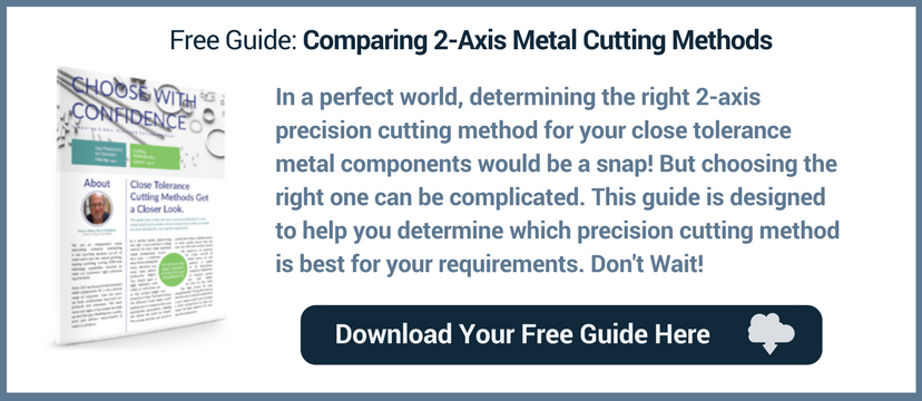 comparing 2-axis metal cutting methods
