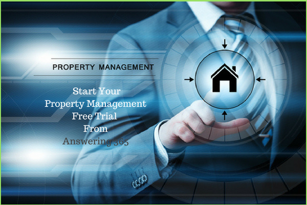answering service free trial for property management