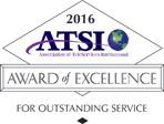 Award of Excellence for 2016 from ATSI