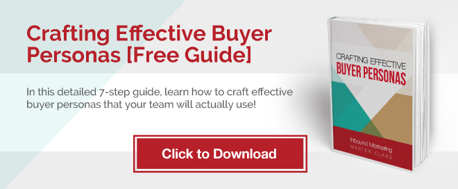 Crafting Effective Buyer Personas-Click Here to Download