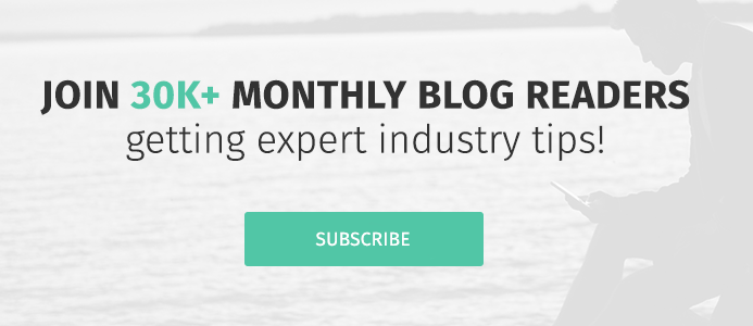 Join 30K+ monthly blog readers getting expert industry tips! Subscribe to the blog.
