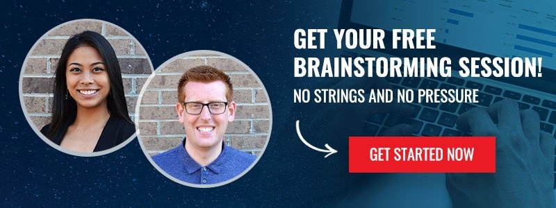 Get your free brainstorming session