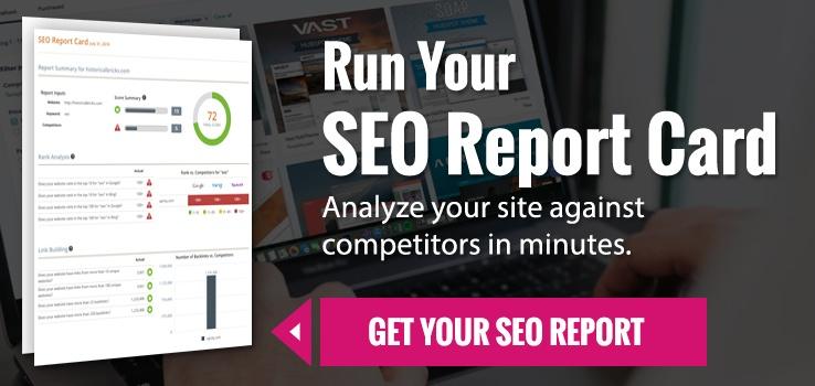 SEO Report Card Tool