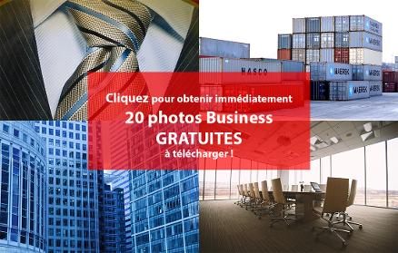 Obtenez gratuitement 20 images Business
