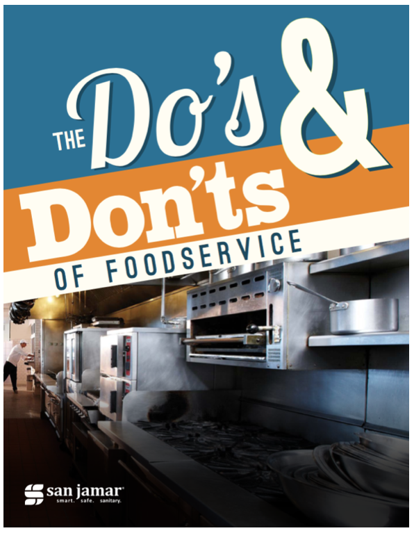 San Jamar Foodservice Do's and Don'ts