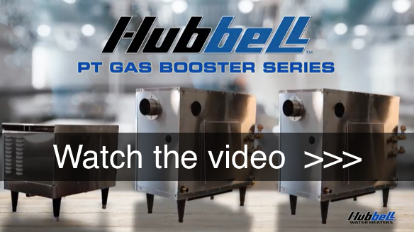 Hubbell PT Series Gas Booster Water Heater Video