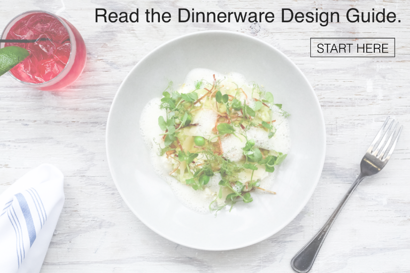 Dinnerware Design Guide CTA