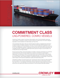 Commitment Class Specification Sheet