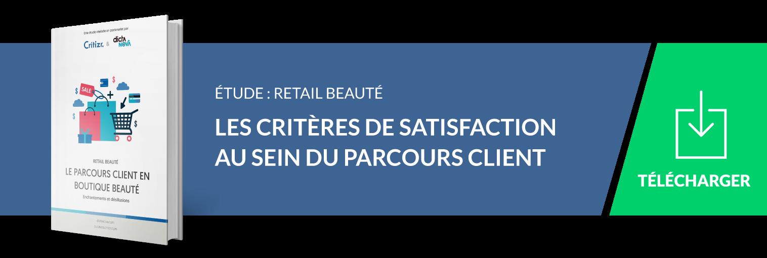 étude retail beauté : l'expérience client en boutique beauté