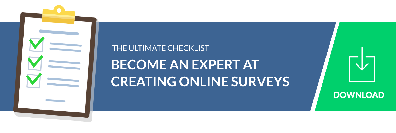 ultimate checklist to create effective online surveys