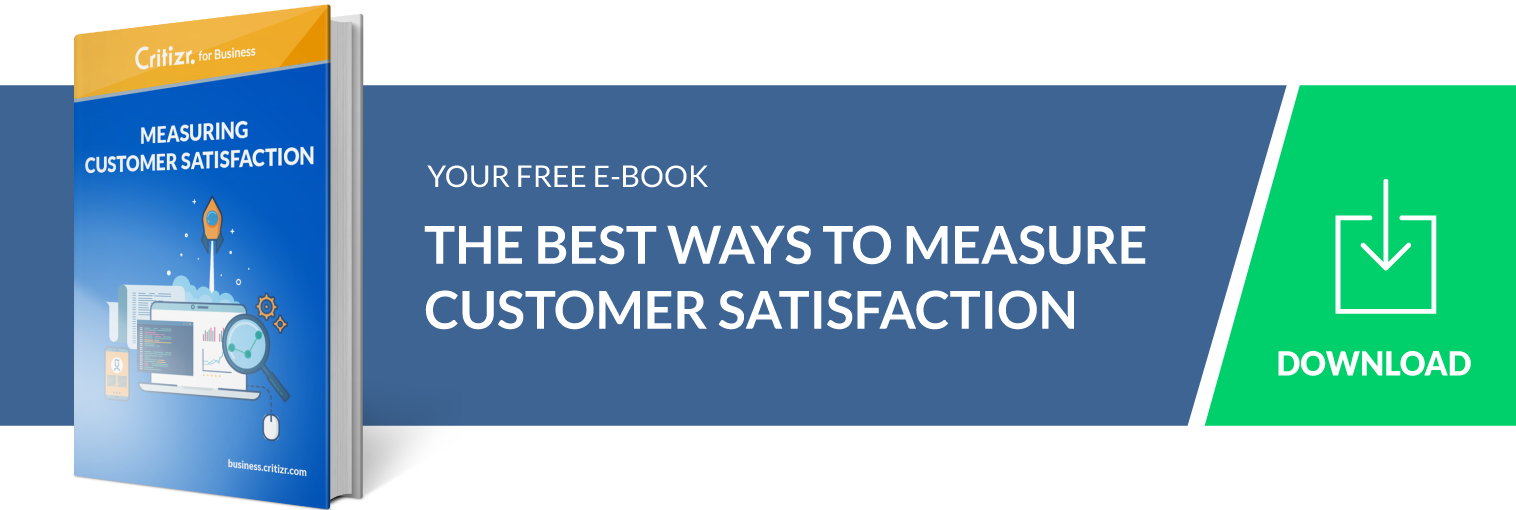 Call To Action Ebook Measure Customer feedback
