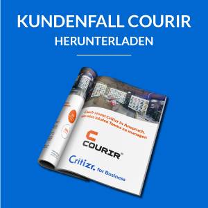 Critizr for Business Kundenfall Courir