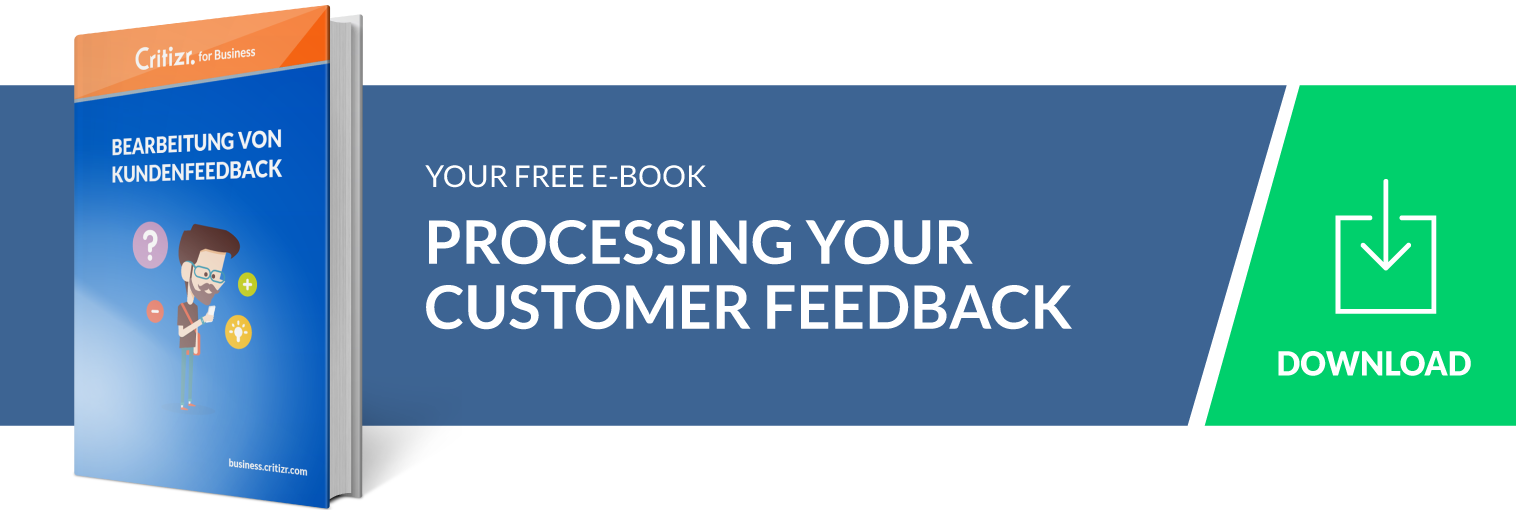 Call To Action Ebook Handling Customer Feedback