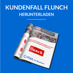 Critizr for Business Kundenfall Flunch