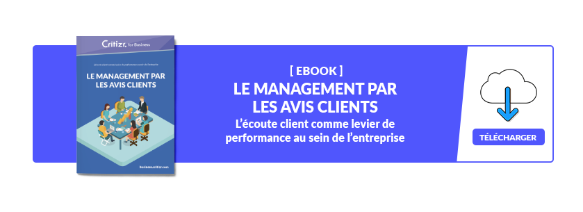 Ebook - Le management par les avis clients