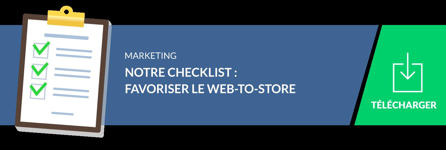 check list : les bonnes pratiques du web-to-store