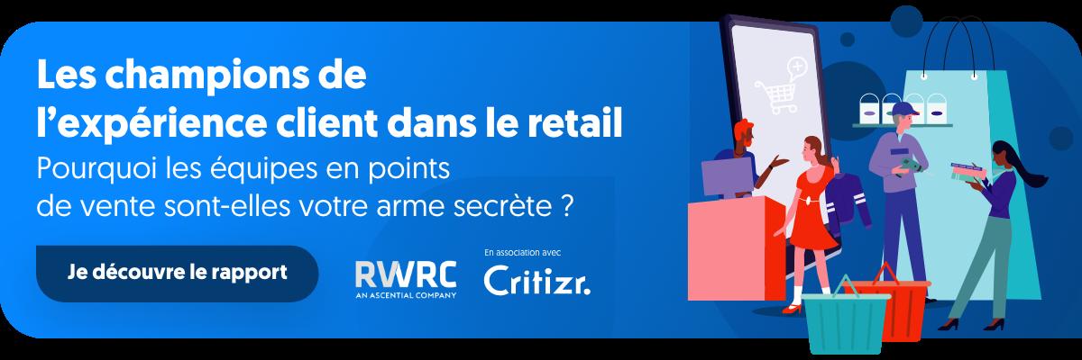 CTA - Rapport les champions de l'expérience client dans le retail