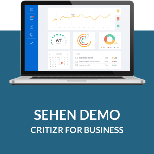 Critizr for Business sehen demo