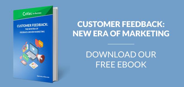 Critizr for Business Ebook Customer Feedback