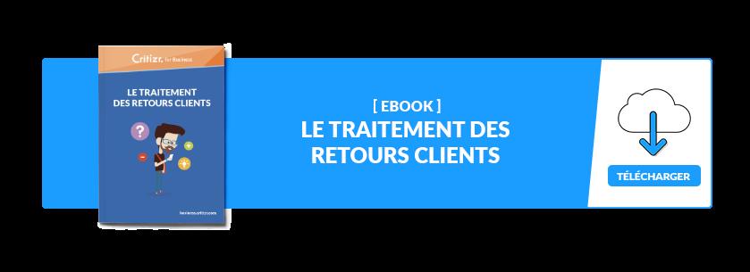 Ebook - Traitement des retours clients