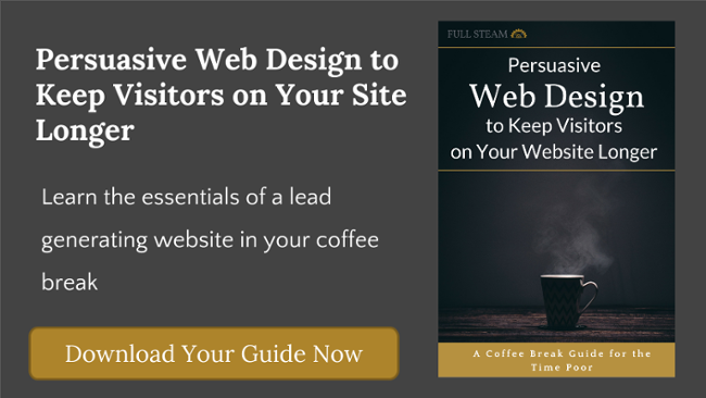 persuasive web design to keep visitors on your website longer and reduce bounce rate