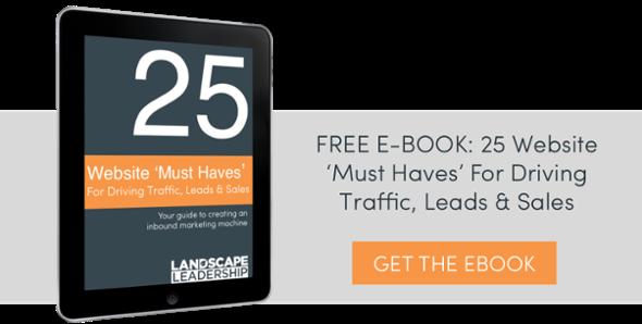 Ebook: 25 Website Must Haves