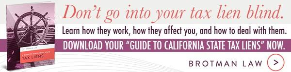 guide to california tax liens ebook